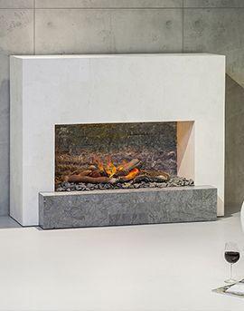 Aqua Détente Luxembourg - cheminée électrique