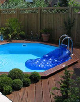 Aquadetente piscine hors sol et terrasse bois