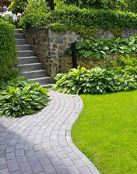 Aqua Détente paysagiste création et réalisation d'espace vert allée