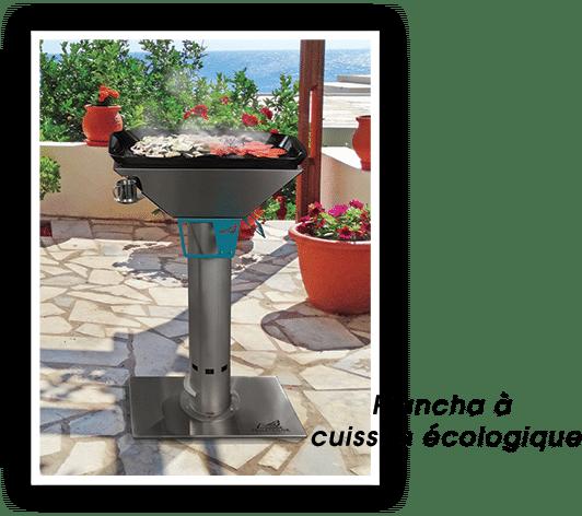 Le temps des grillades – Barbecue à pellets et plancha à cuisson écologique